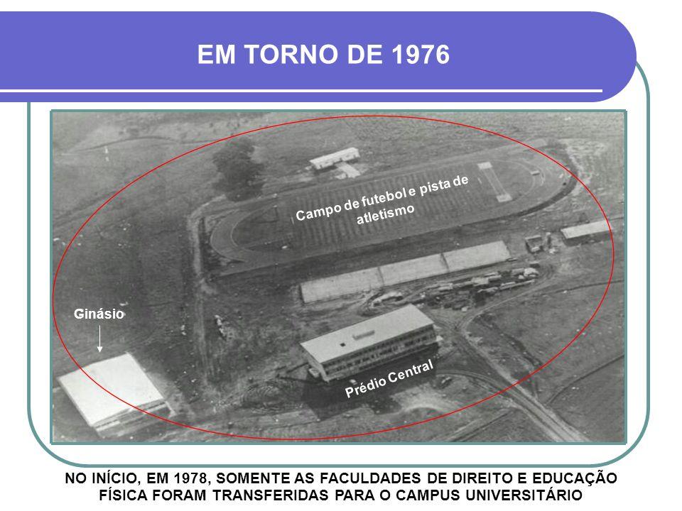 Campo de futebol e pista de atletismo