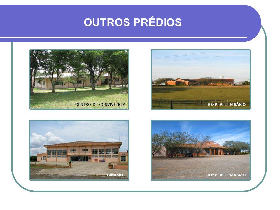 OUTROS PRÉDIOS CENTRO DE CONVIVÊNCIA HOSP. VETERINÁRIO GINÁSIO