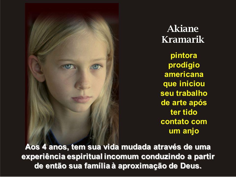 Akiane Kramarik pintora prodígio americana