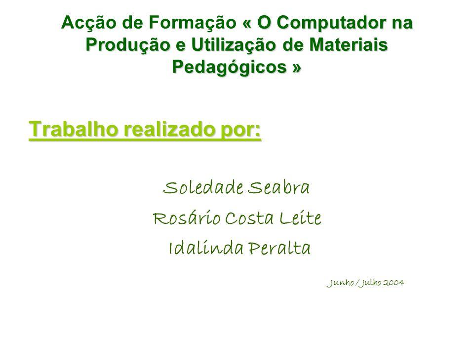 Soledade Seabra Rosário Costa Leite Idalinda Peralta