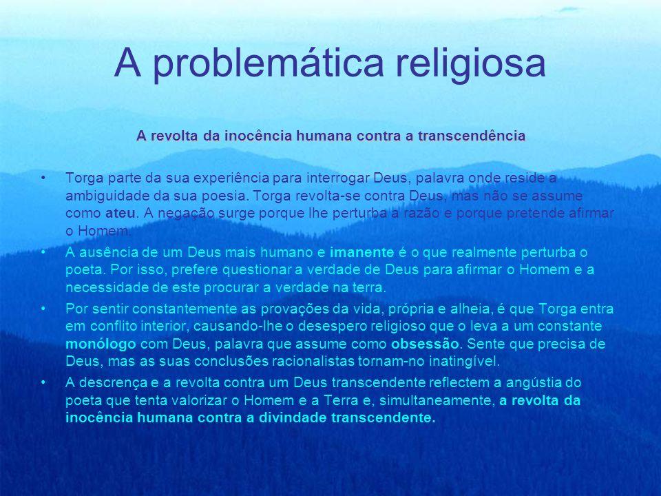 A problemática religiosa