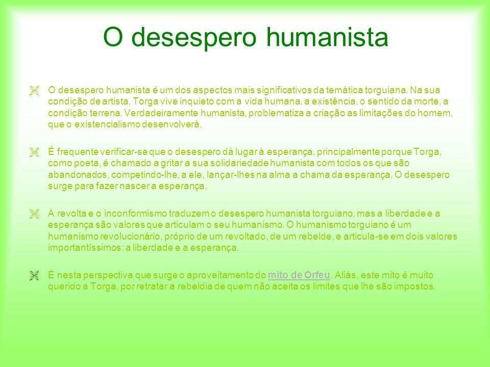 O desespero humanista