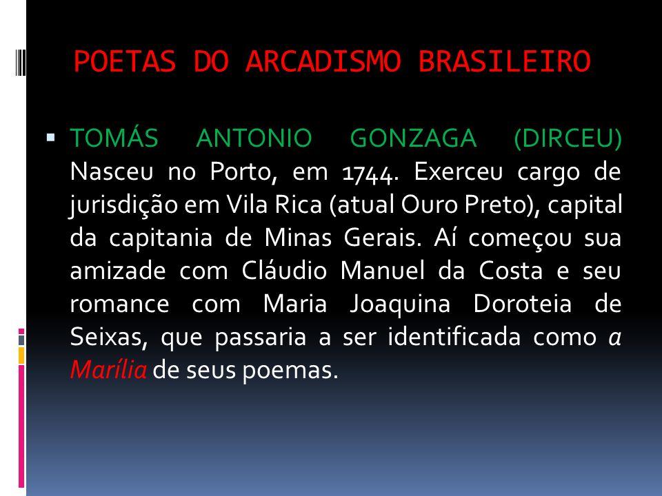 POETAS DO ARCADISMO BRASILEIRO