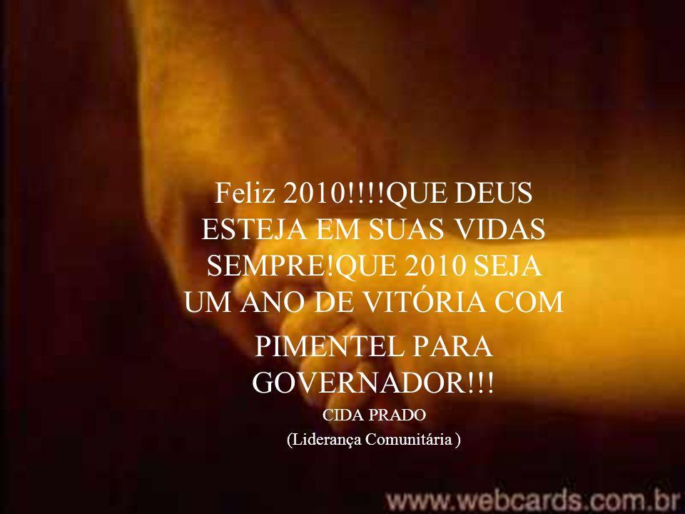PIMENTEL PARA GOVERNADOR!!!