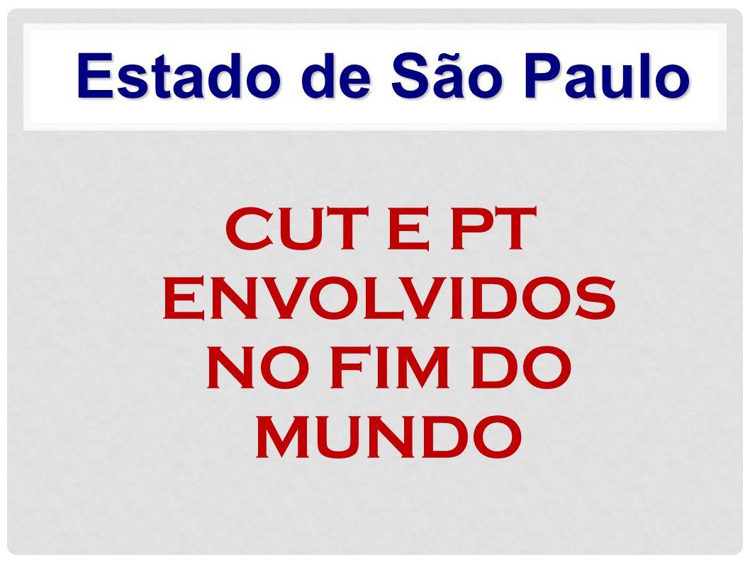 CUT E PT ENVOLVIDOS NO FIM DO MUNDO