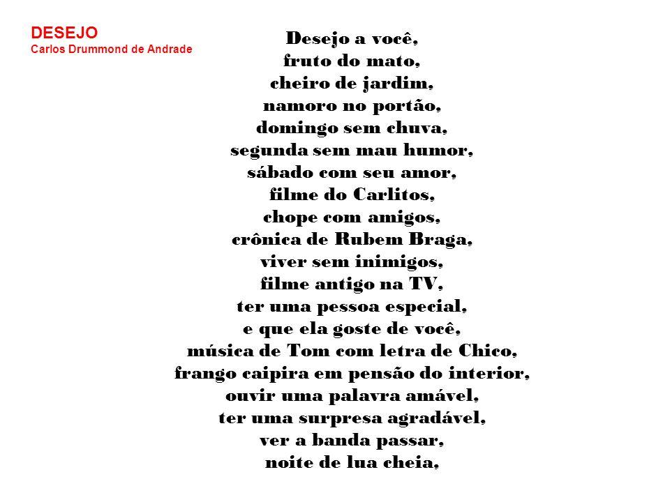 DESEJO Carlos Drummond de Andrade.