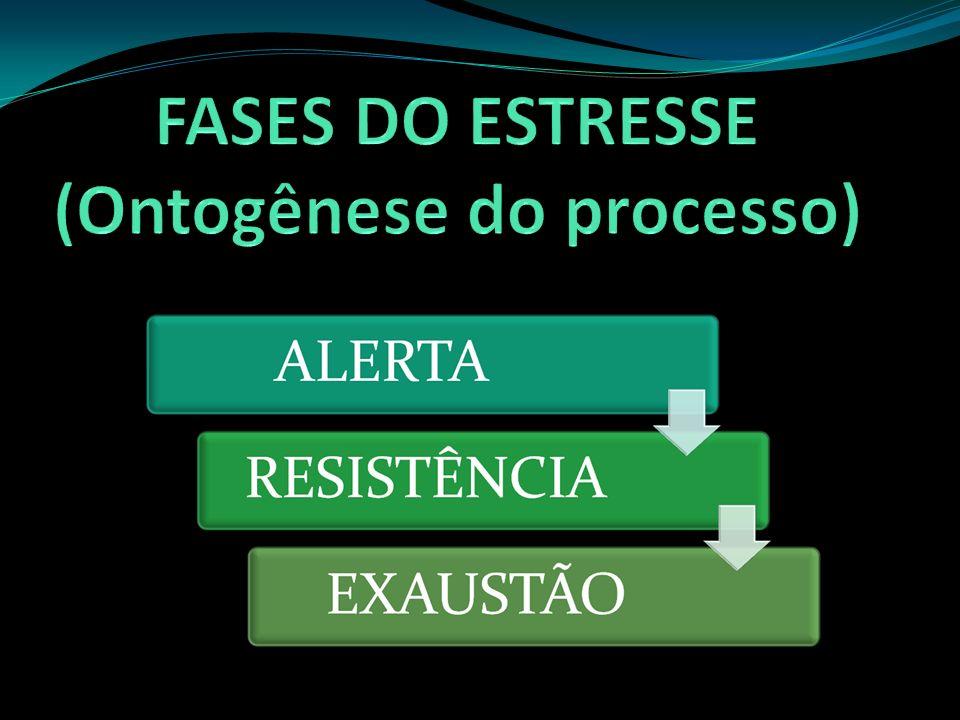 FASES DO ESTRESSE (Ontogênese do processo)