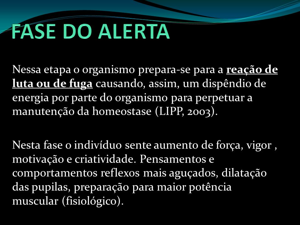 FASE DO ALERTA