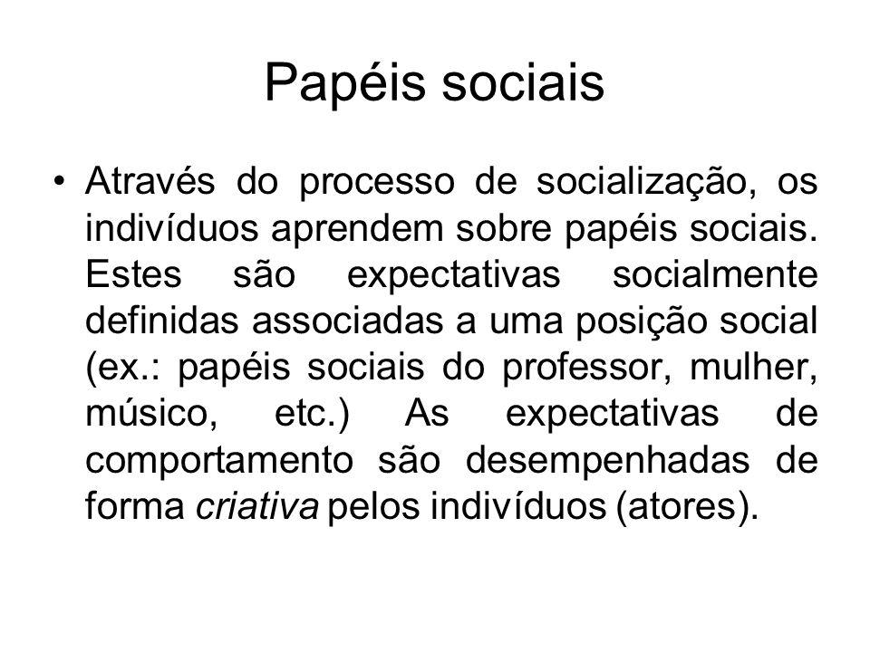 Papéis sociais