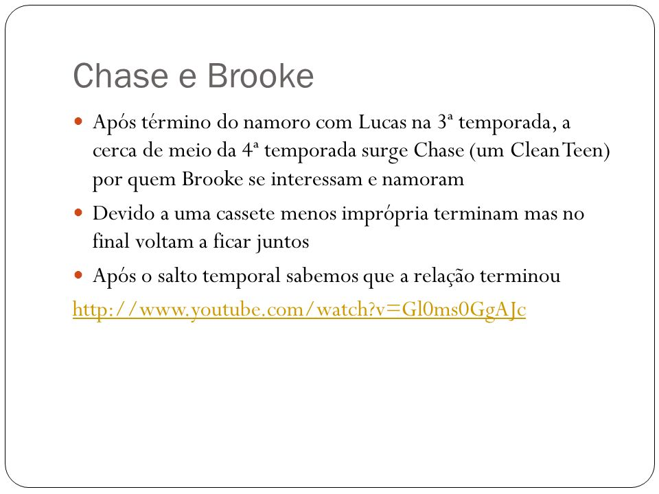 Chase e Brooke