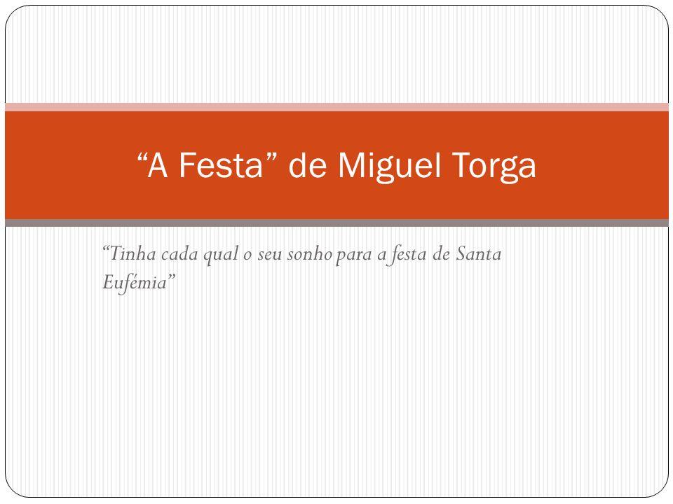 A Festa de Miguel Torga