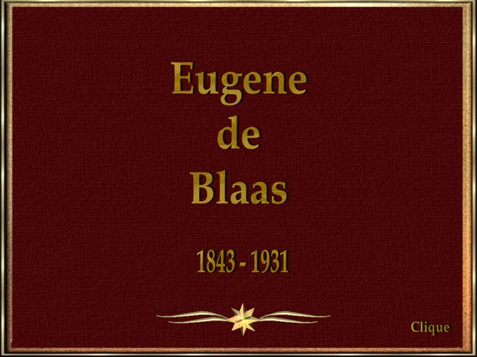 Eugene de Blaas 1843 - 1931 Clique