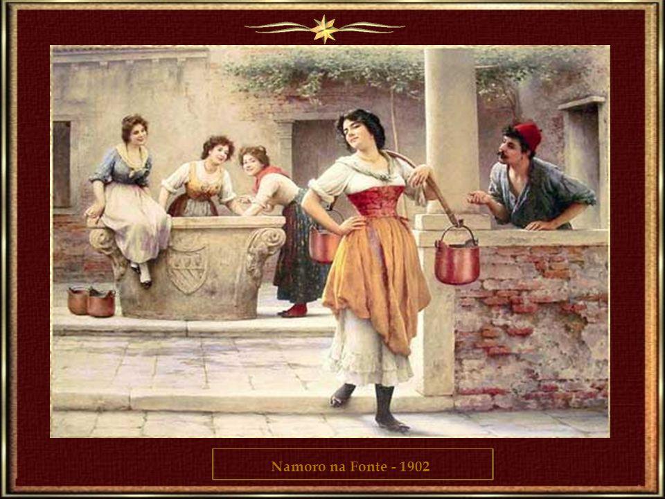 Namoro na Fonte - 1902