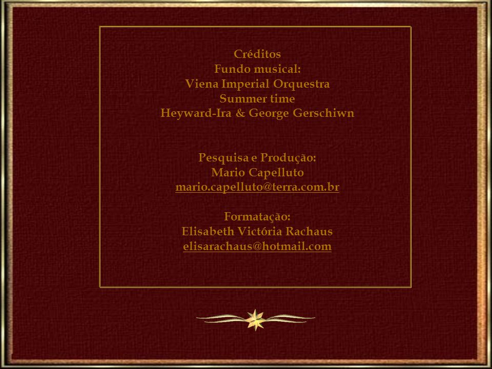 Viena Imperial Orquestra Summer time Heyward-Ira & George Gerschiwn