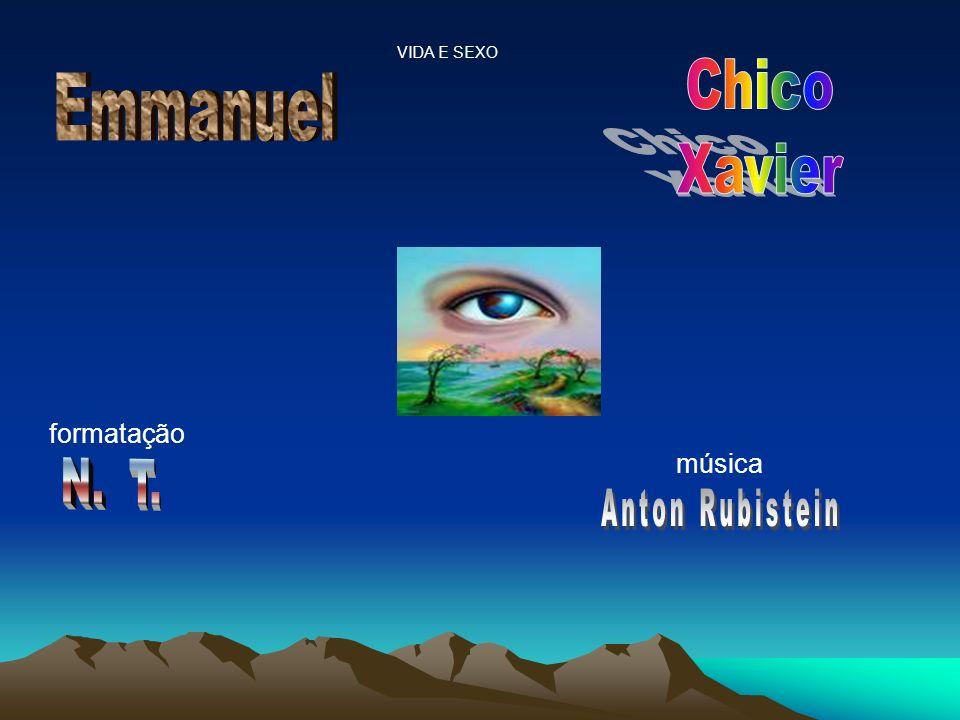Chico Emmanuel Xavier N. T. formatação música Anton Rubistein