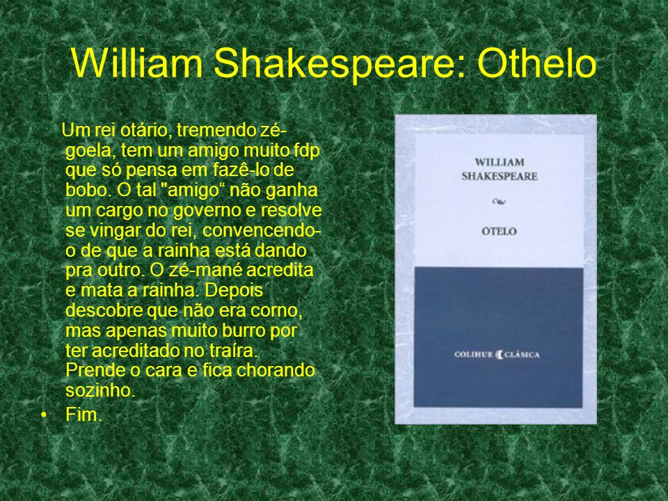 William Shakespeare: Othelo