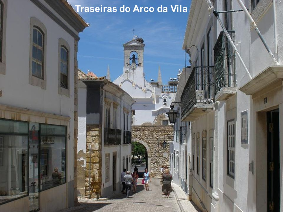 Traseiras do Arco da Vila