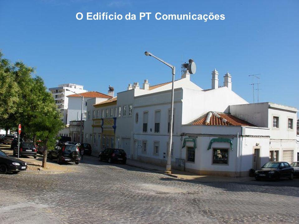 O Edifício da PT Comunicações