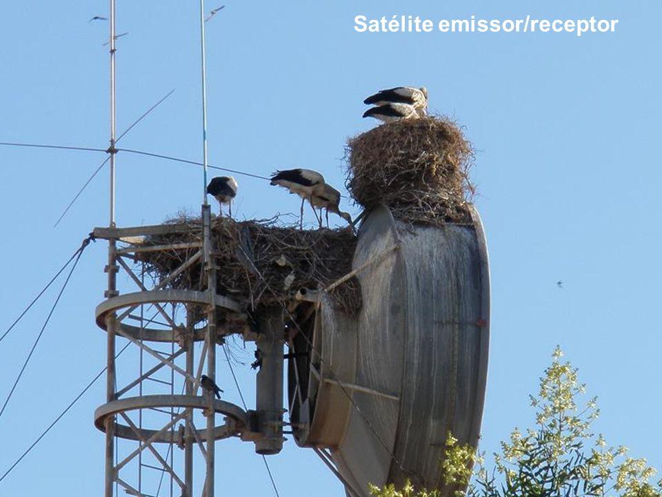 Satélite emissor/receptor