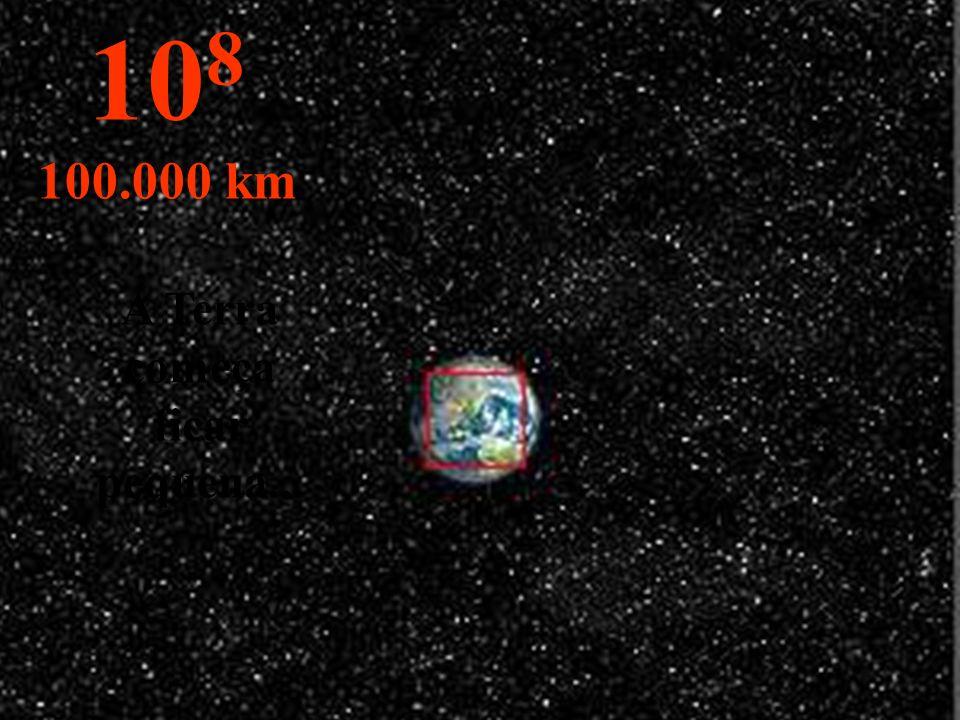 A Terra começa ficar pequena...
