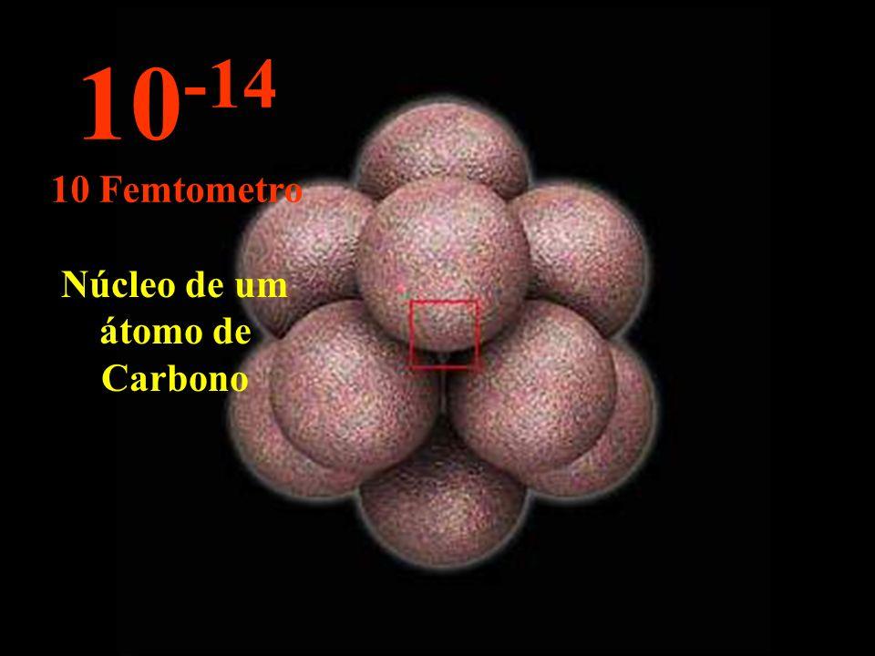 Núcleo de um átomo de Carbono