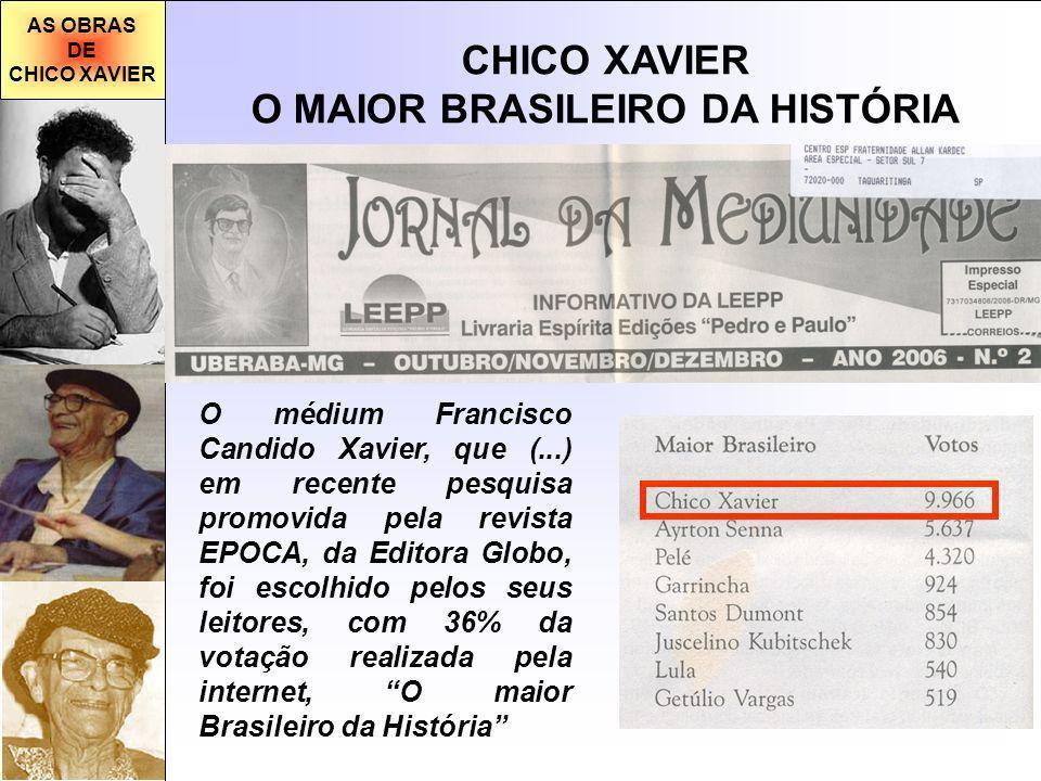 O MAIOR BRASILEIRO DA HISTÓRIA