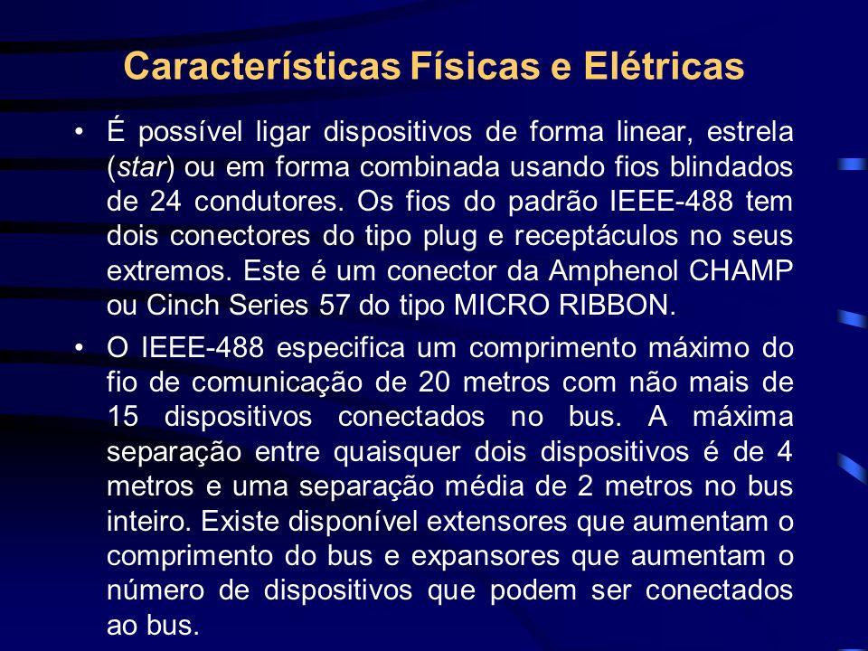Características Físicas e Elétricas