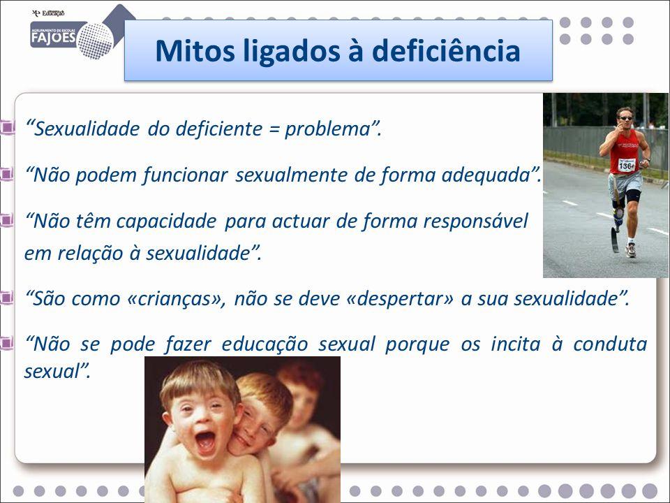 Mitos ligados à deficiência