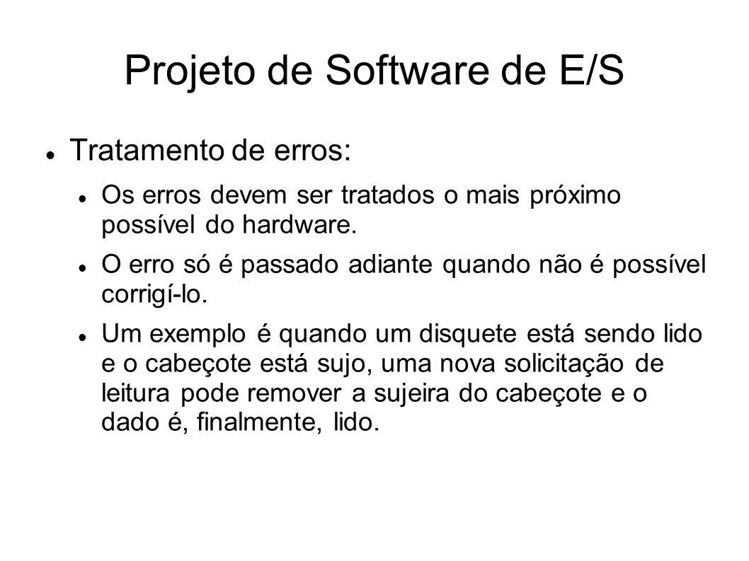 Projeto de Software de E/S