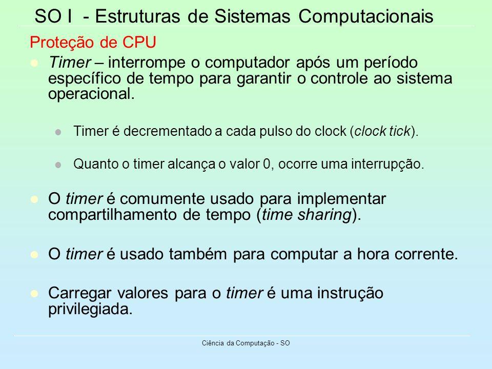 Ciência da Computação - SO