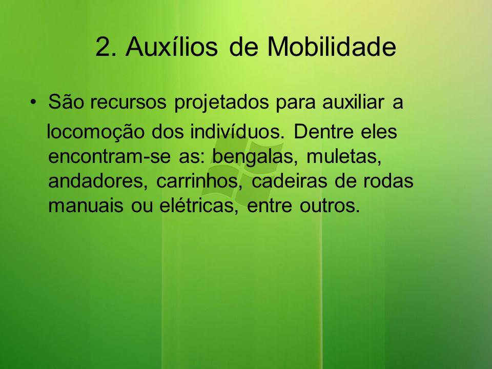 2. Auxílios de Mobilidade