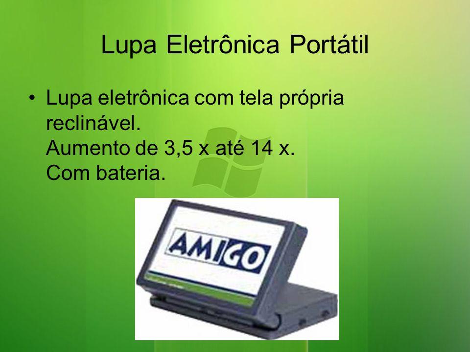 Lupa Eletrônica Portátil