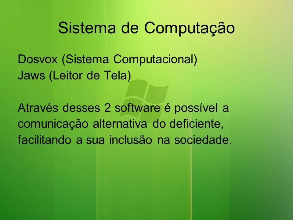 Sistema de Computação Dosvox (Sistema Computacional)