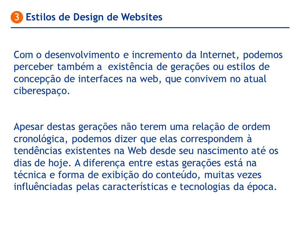 3 Estilos de Design de Websites