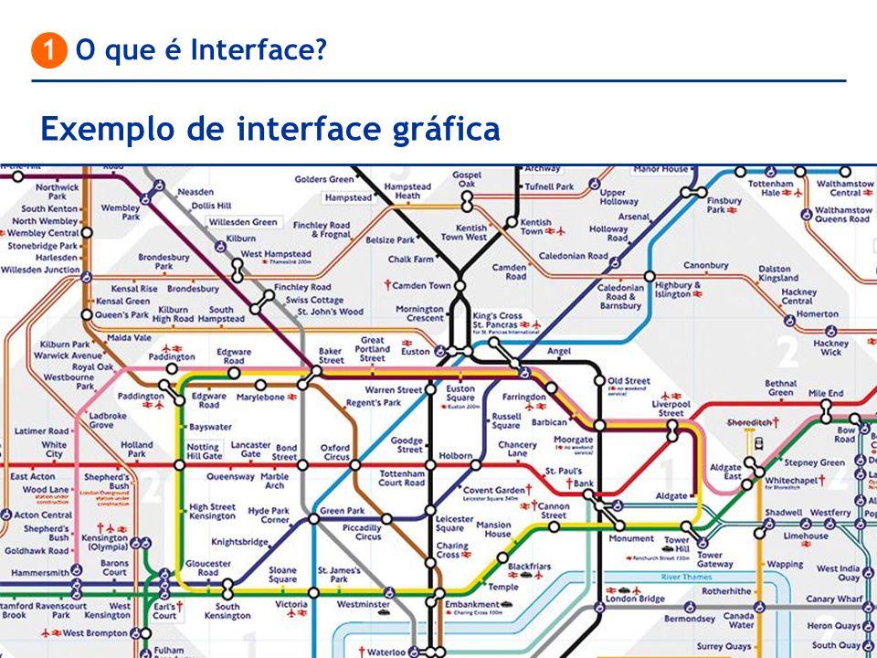 Exemplo de interface gráfica