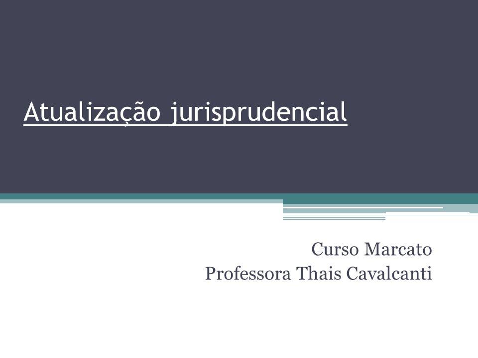 Atualização jurisprudencial