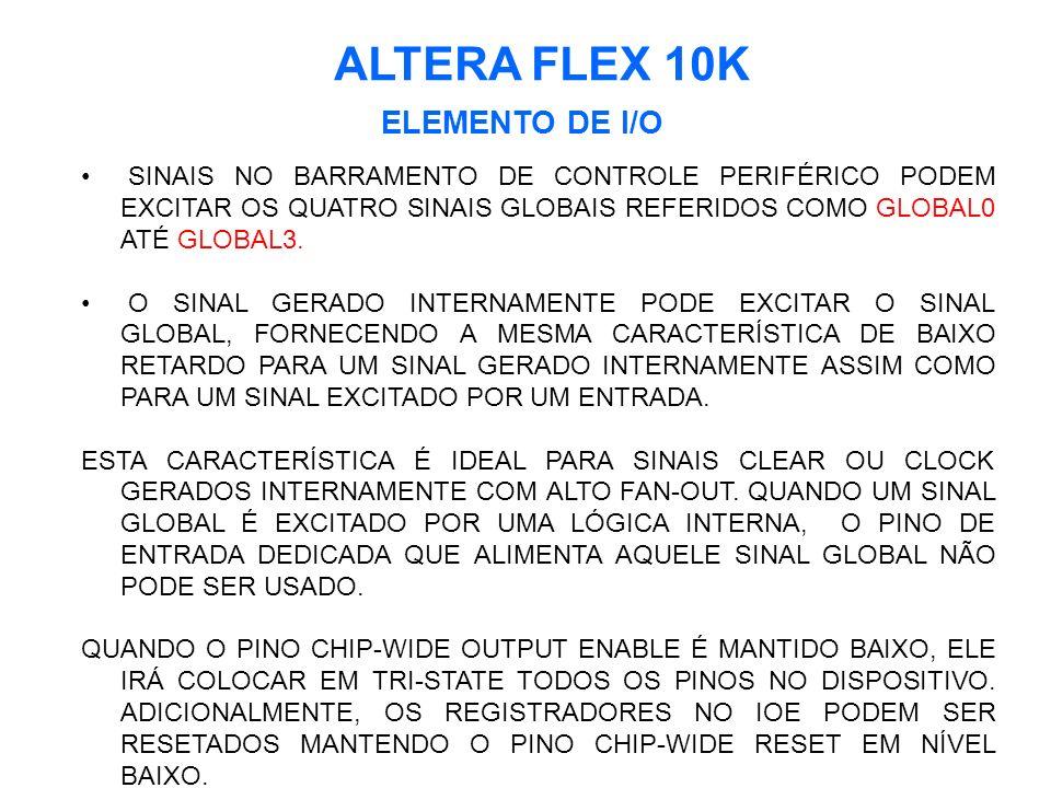 ALTERA FLEX 10K ELEMENTO DE I/O