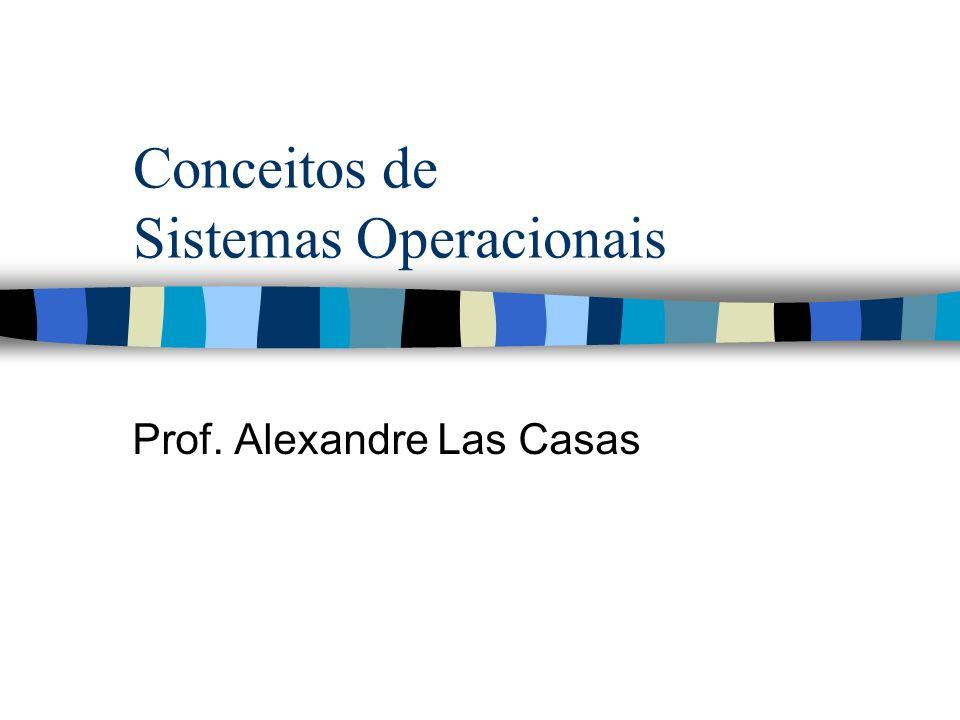 Conceitos de Sistemas Operacionais