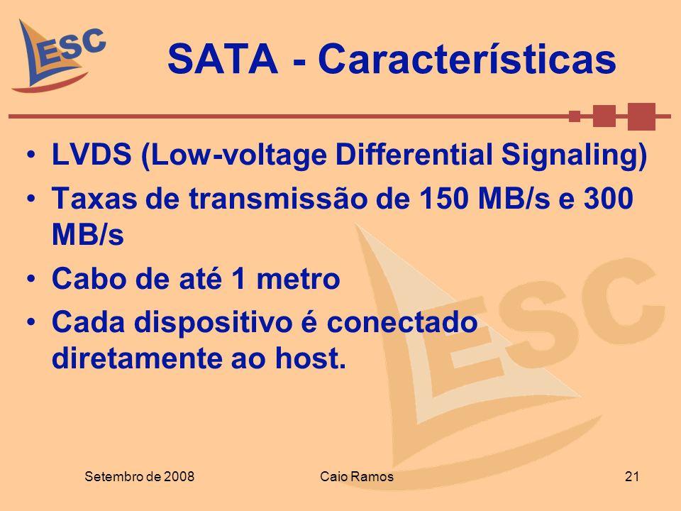 SATA - Características