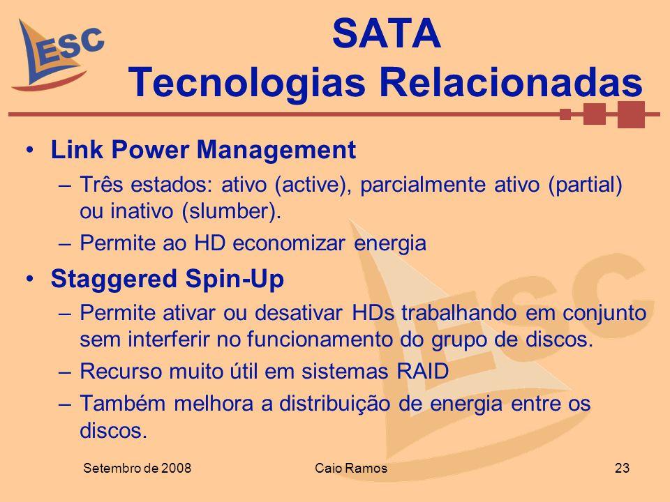 SATA Tecnologias Relacionadas