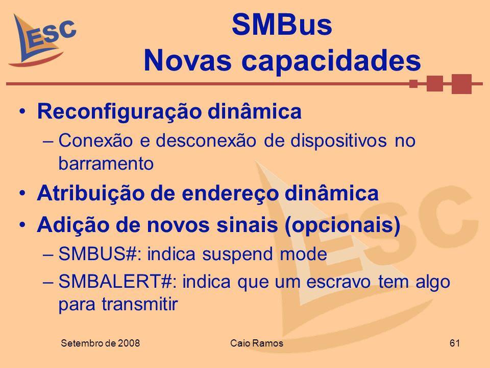 SMBus Novas capacidades