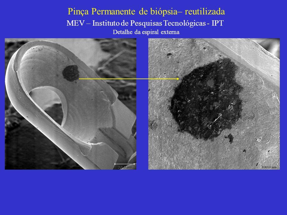 Pinça Permanente de biópsia– reutilizada