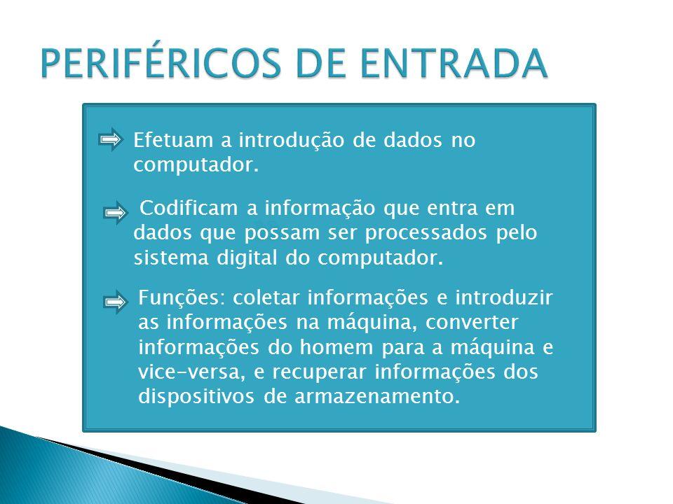 PERIFÉRICOS DE ENTRADA