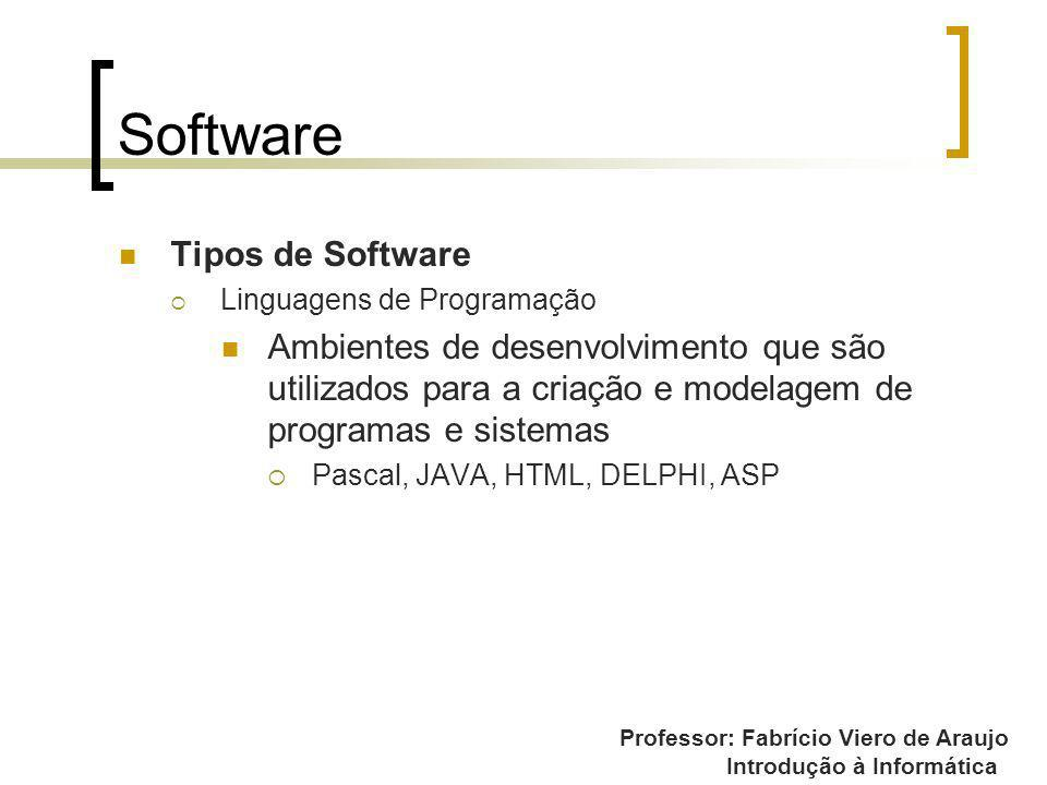Software Tipos de Software