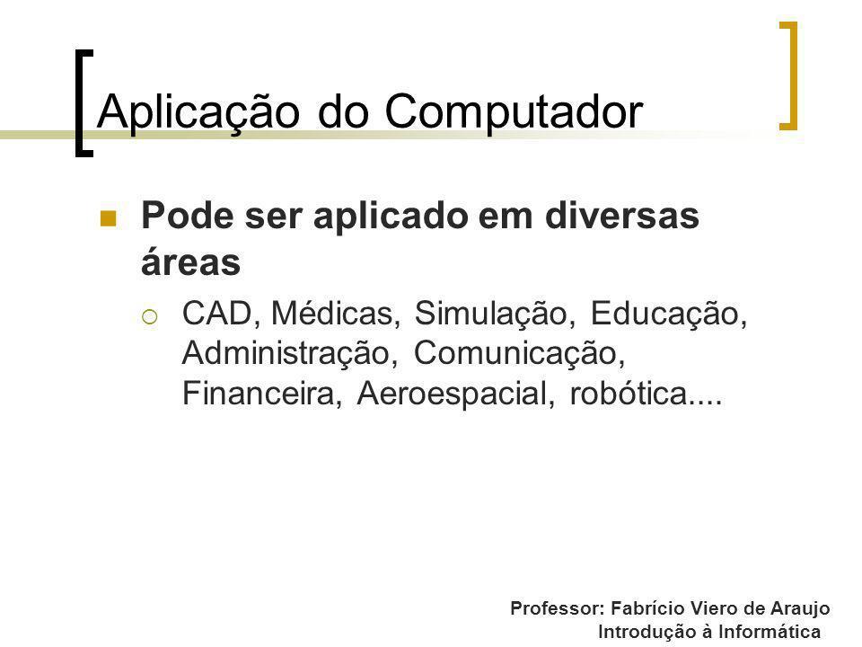 Aplicação do Computador