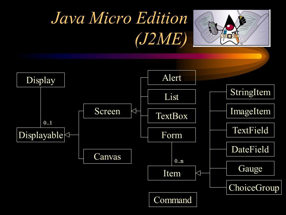 Java Micro Edition (J2ME)