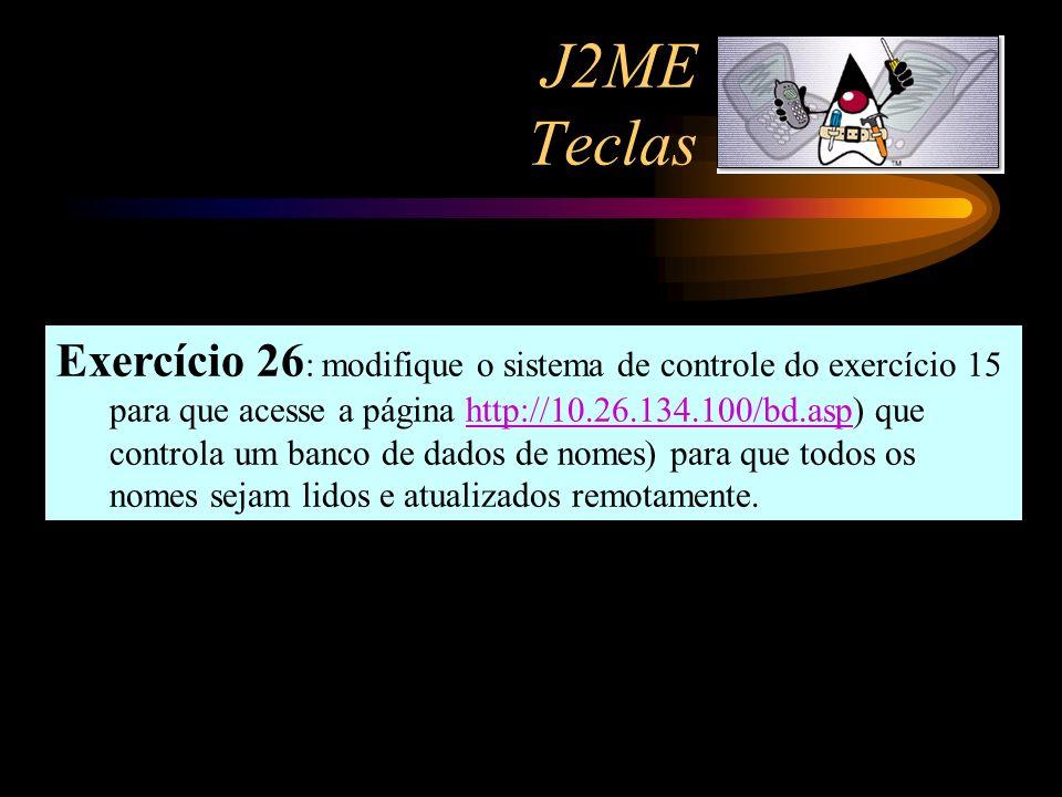 J2ME Teclas