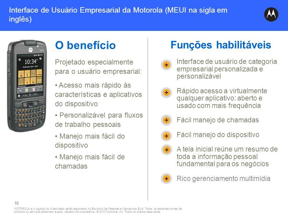 Interface de Usuário Empresarial da Motorola (MEUI na sigla em inglês)