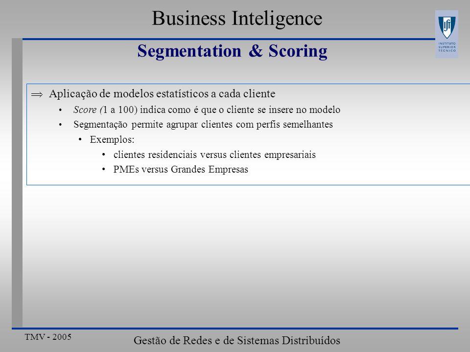 Segmentation & Scoring