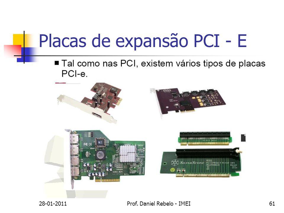 Placas de expansão PCI - E